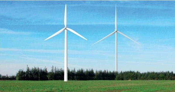 Visualisering af vindmøller med totalhøjder
